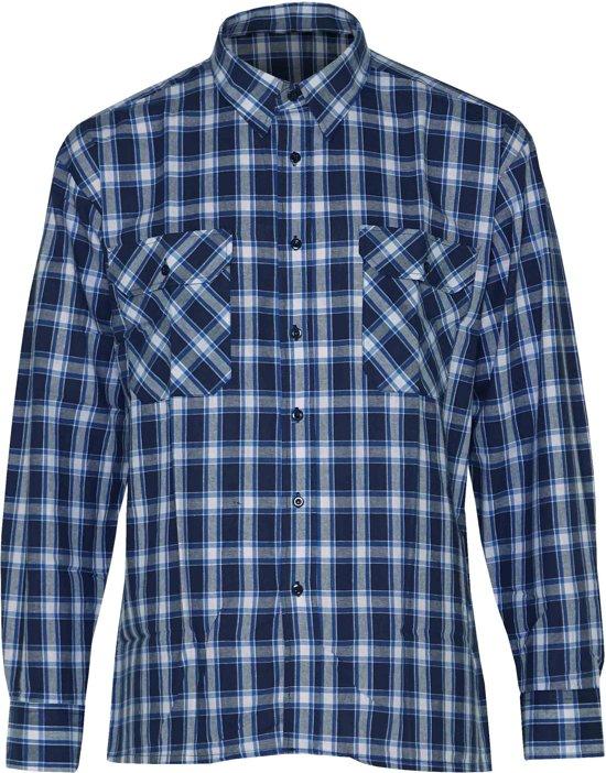 Lange houthakkers blouse