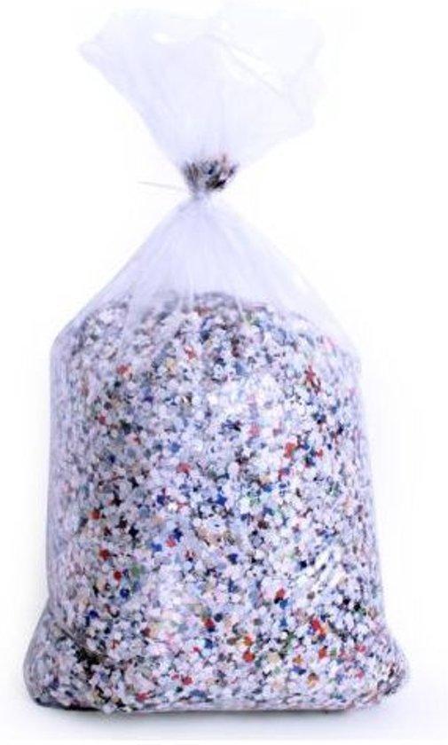 Confetti kantig bont