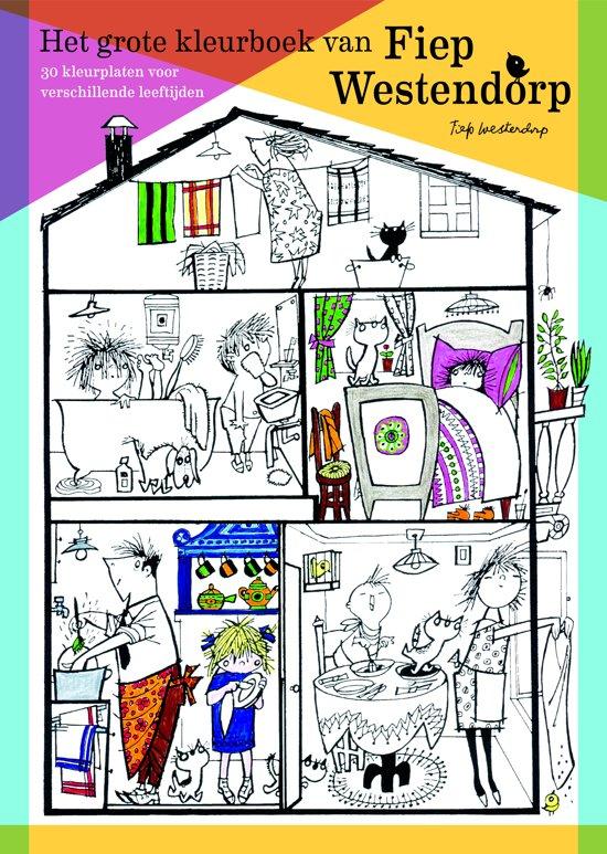 Boek cover Het grote kleurboek van Fiep Westendorp van Diverse auteurs (Paperback)