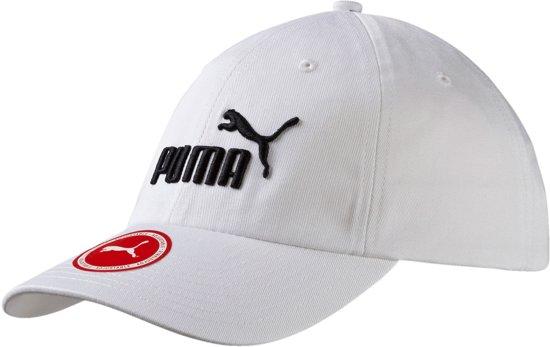 Puma Essential Cap - Unisex - wit/zwart