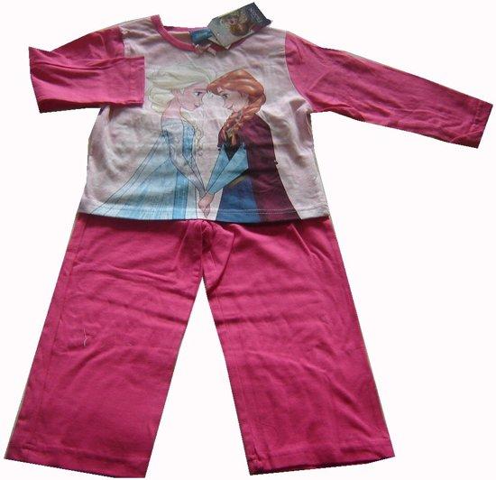 Roze-roze pyjama van Disney Frozen