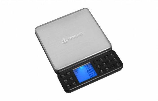 On Balance professionele precisie juweliers weegschaal 0.01 gram nauwkeurig tot 200 gram
