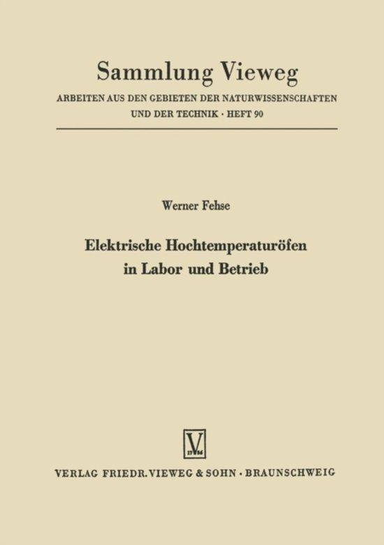 bol.com | Elektrische Hochtemperaturofen in Labor Und Betrieb ...
