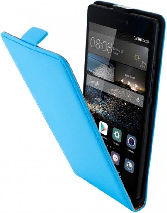 Cas Flip Premium Pour Huawei P8 - Bleu Clair 07eMVvFA