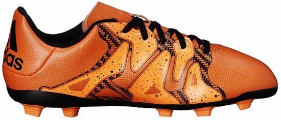 Adidas X 15.4 FG J oranje voetbalschoenen kids (S83163) (S83163)