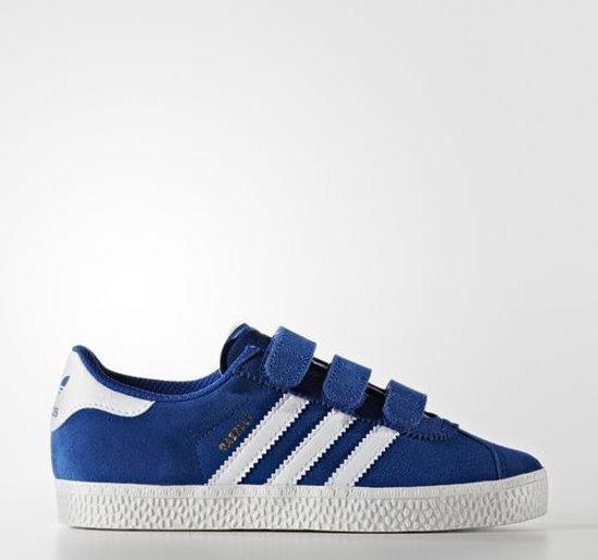 adidas schoenen blauw wit