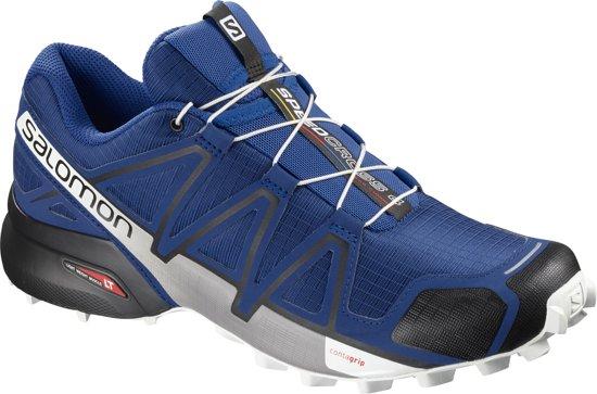 Salomon Speedcross 4 Sportschoenen Heren - Mazarine Blue/ Black / White