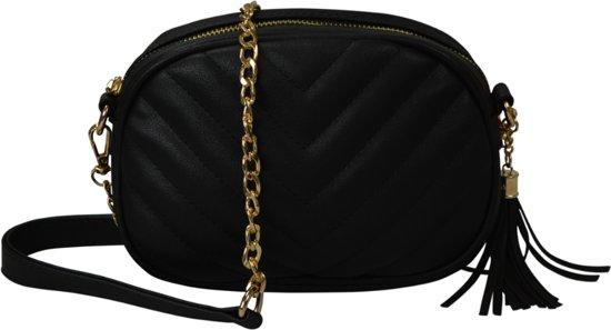 Jozemiek Black Quilted Jozemiek Oval Bag tsQrhd