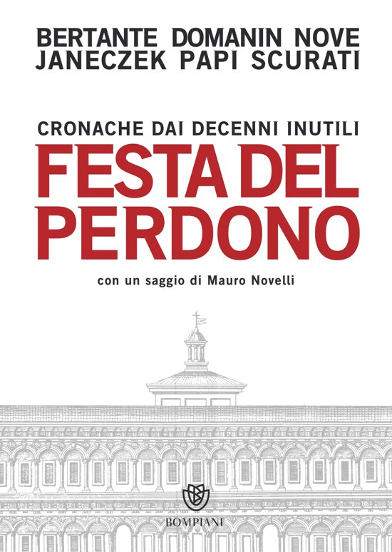 Boek cover Festa del perdono van Alessandro Bertante (Onbekend)