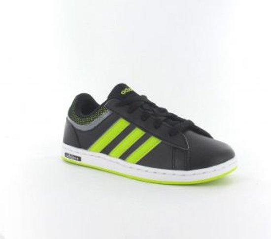 a485a2f03ed adidas Neo Derby Set Kids - Sneakers - Kinderen - Maat 36 - Zwart/ Lime