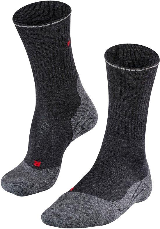 Falke TK 2 Wool Silk Sokken Heren grijs Schoenmaat 39-41