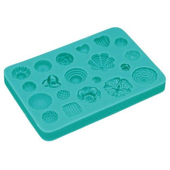 Kitchencraft siliconen mal, 20 rozetten SDI