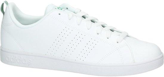 Witte lage sneakers heren