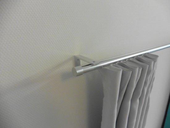 ᐅ • Sleepp gordijnroede gordijnrail flexibel systeem voor ophangen ...