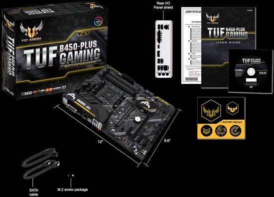 Asus TUF B450-PLUS Gaming