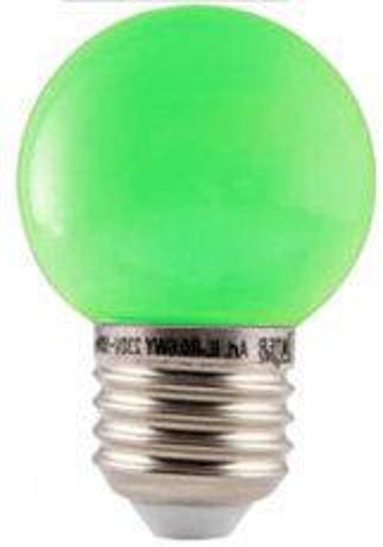 fortuijn led lamp led lamp e27 bulb 1 watt waterproof groen. Black Bedroom Furniture Sets. Home Design Ideas