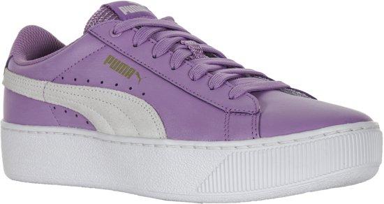 00d4df27d29 Puma Vikky Platform L Sneakers Dames Sneakers - Maat 39 - Vrouwen - roze wit