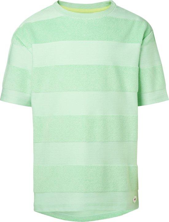 NOP Jongens T-shirt - Grey Mint Maat 122
