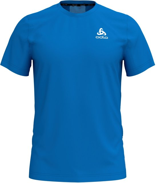 Odlo Bl Top Crew Neck S/S Ceramicool Element Sportshirt Heren - Nebulas blue