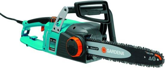 GARDENA CST 3518 Elektrische Kettingzaag - 1800W - 35 cm Zwaardlengte - Met Quick-Fit systeem
