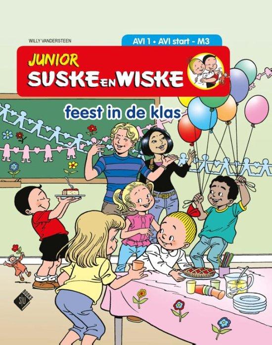 Junior Suske en Wiske  - Feest in de klas