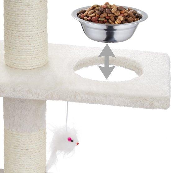 Katten krabpaal Deluxe 167cm beige 400448