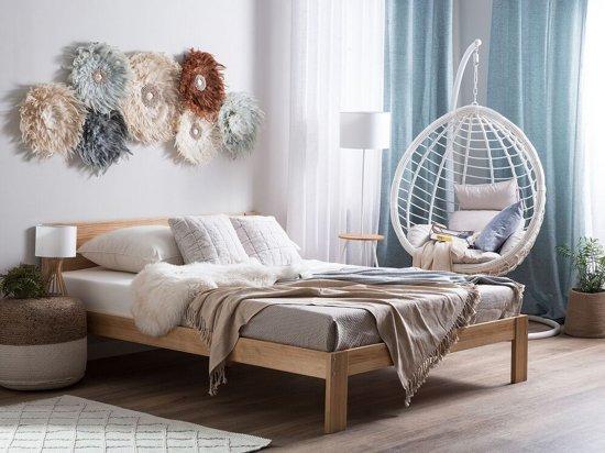 Beliani Duo Pocketverenmatras Wit Bonnellvering 160 x 200 cm