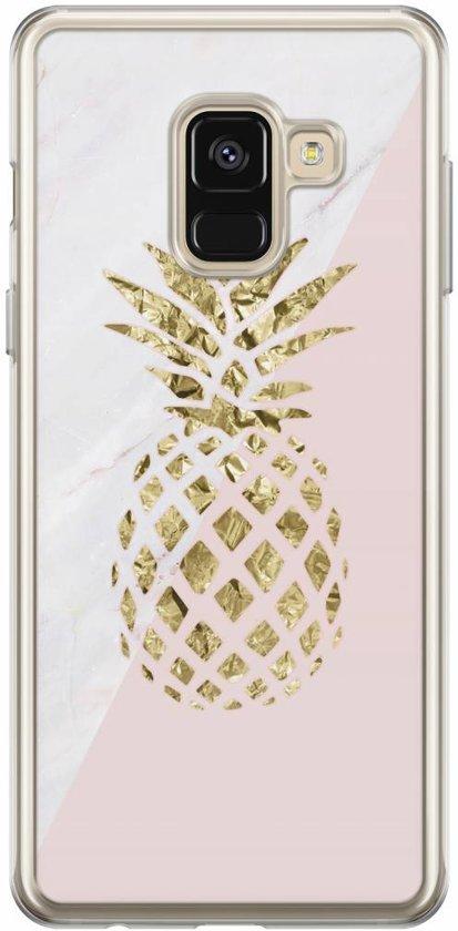 Samsung Galaxy A8 2018 siliconen hoesje - Ananas