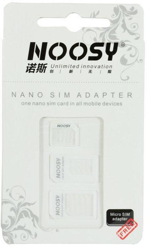 Noosy Nano-SIM Adapter Kit, 3 Pack