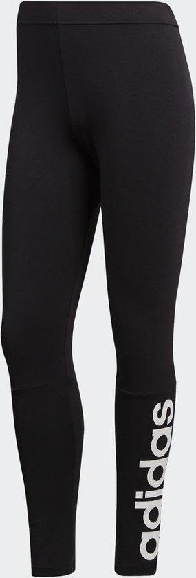 adidas Essentials Linear Tight Sportlegging Dames - Black/White