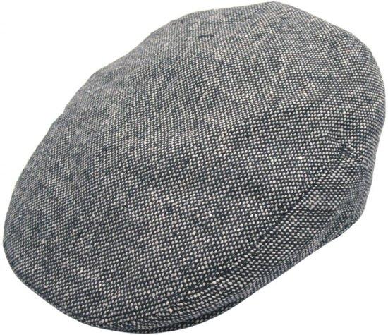 2a1c7fc0885 Jaxon Hats Marl Tweed Flat Cap Grijs - XL