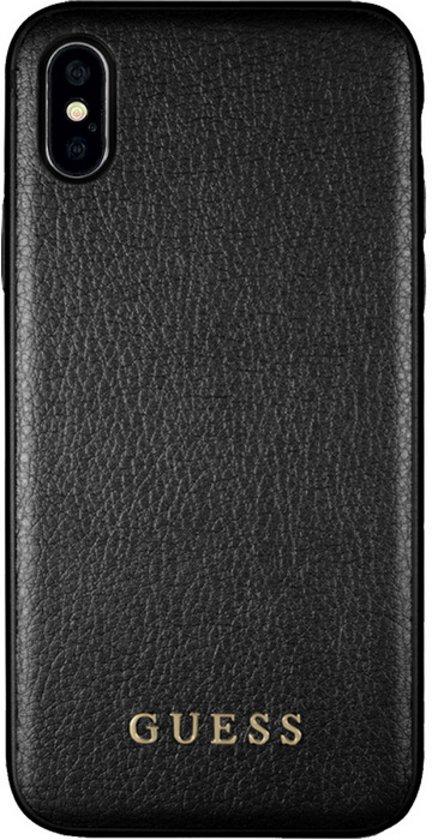 """Guess IriDescent Hard Case voor Apple iPhone X/Xs (5,8"""") - Zwart"""
