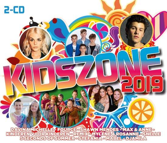 CD cover van Kidszone 2019 van Kidszone