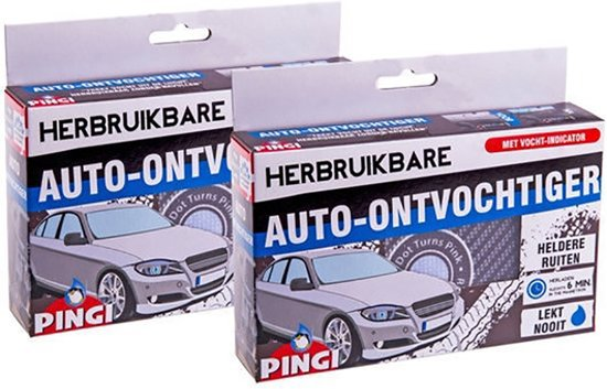 bol.com | Pingi Luchtontvochtigers Pingi auto ontvochtiger XL 2 Pak