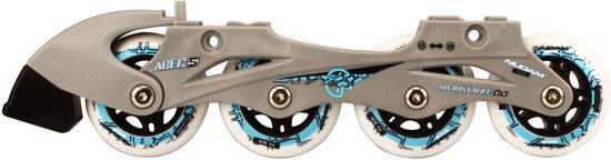 Nijdam Junior Skate/Schaats Combo - Semi-Softboot - Zwart - Maat 31-34