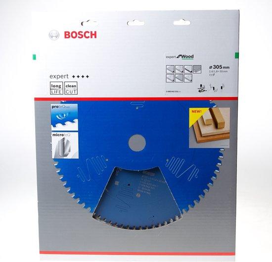 Bosch Cirkelzaagblad 72 tanden Wood Negative ABT 305 x 30 x 2.4mm