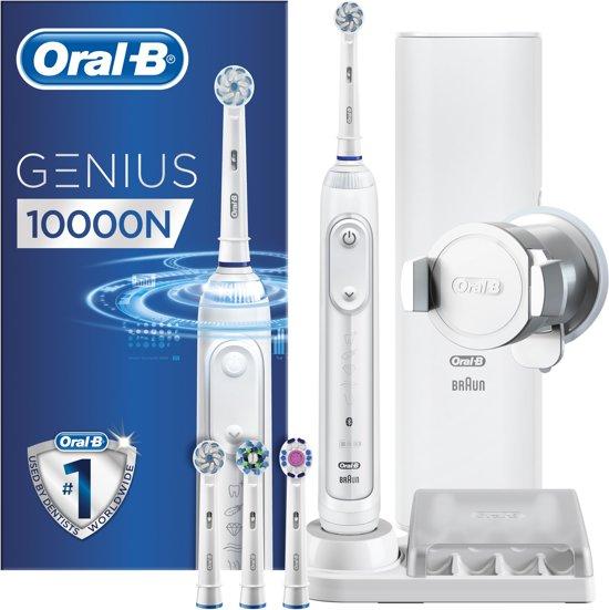 Oral-B Genius 10000N White Elektrische Tandenborstel