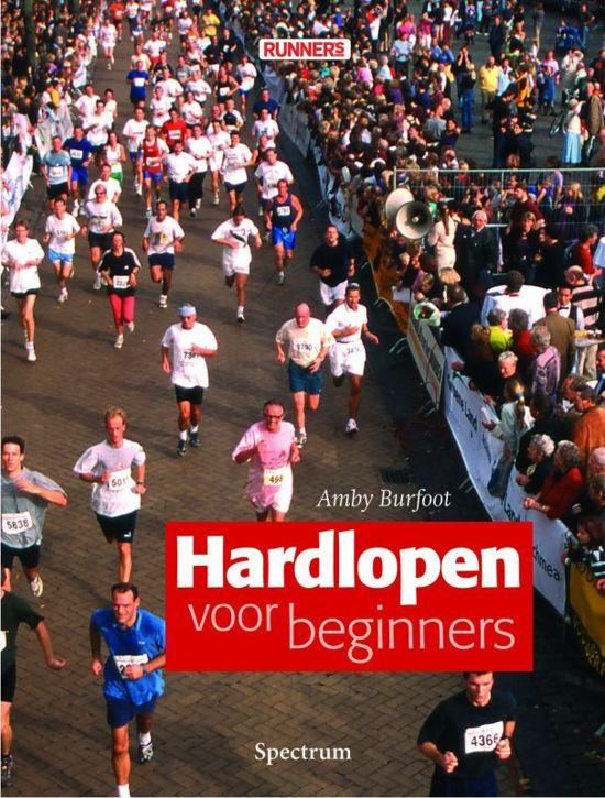 Cover van het boek 'Hardlopen voor beginners' van Amby Burfoot