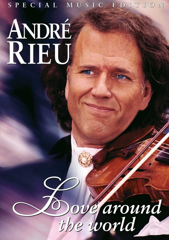 Cover van de film 'Andre Rieu - Love Around the World'