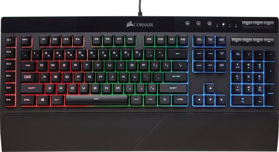 Corsair K55 - Gaming Toetsenbord - Backlit RGB LED - Qwerty
