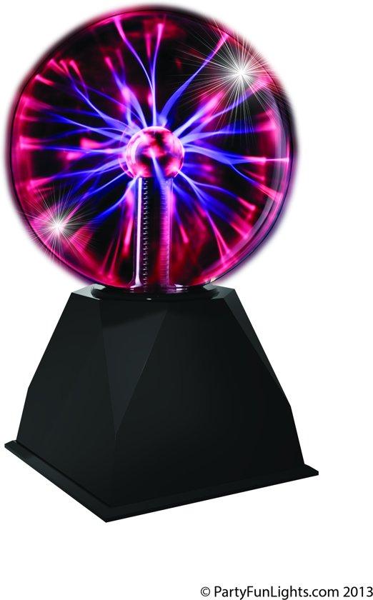 bol.com | PartyFunLights Plasma Lamp Zwart - 15 cm, PartyFunLights ...