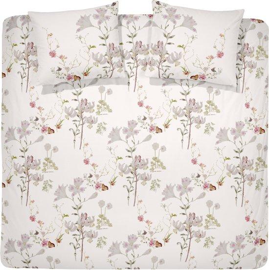 Cinderella Dekbedovertrekset katoen satijn 240 x 200/220 cm sonnet blossom white