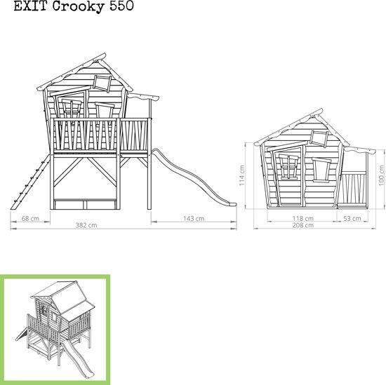 EXIT Crooky 550 Speelhuis