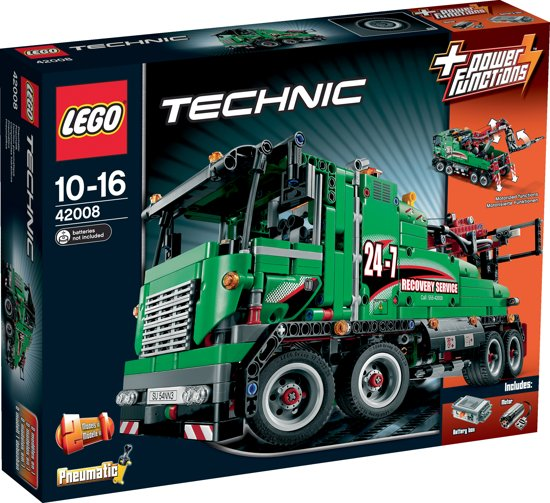 lego technic sleeptruck 42008 lego. Black Bedroom Furniture Sets. Home Design Ideas