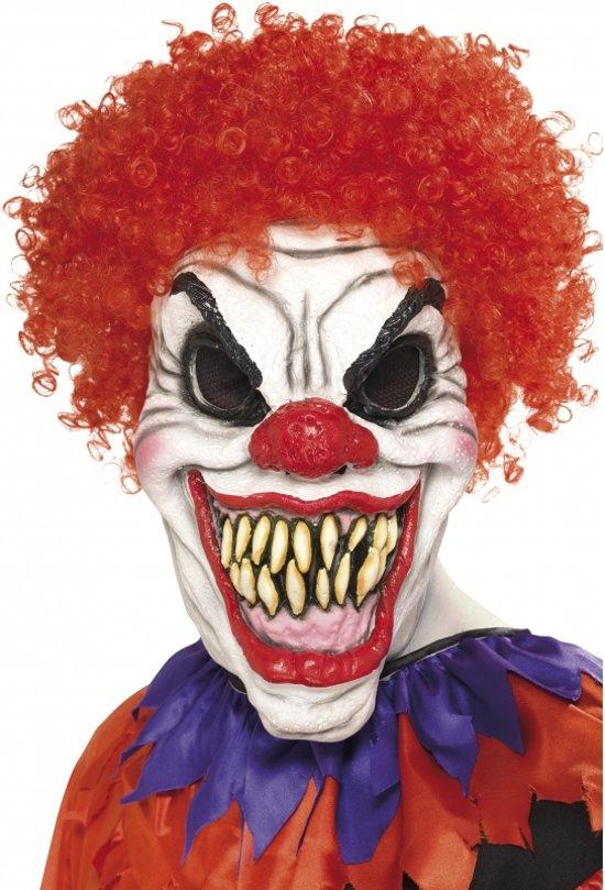 Halloween Masker.Bol Com Halloween Eng Clown Masker Met Haar Smiffys