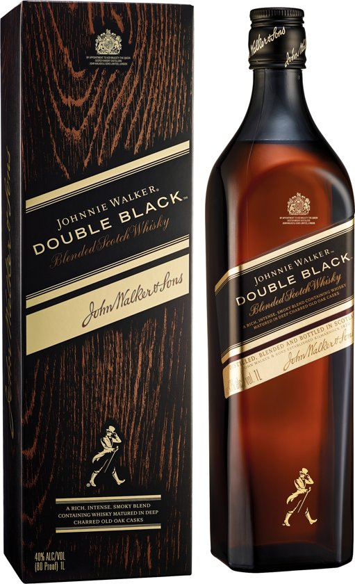 Johnnie Walker Double Black - 70 cl