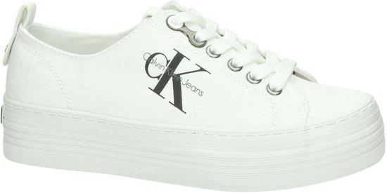 Calvin Klein Zolah Dames Sneaker - Wit