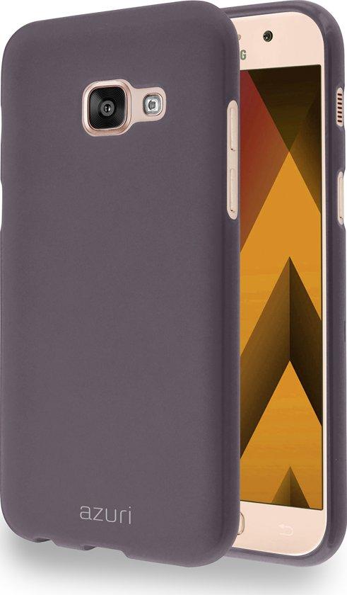 Azuri cover met zand textuur - bruin - voor Samsung Galaxy A3 (2017) in Turnhout