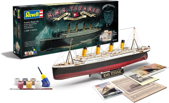 Revell Boot 100 Jaar Titanic - Bouwpakket - 1:400