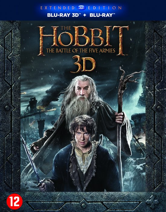 The Hobbit 3 (Extended Edition) (3D & 2D Blu-ray)